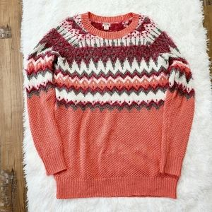 Massimo Coral Sweater Large